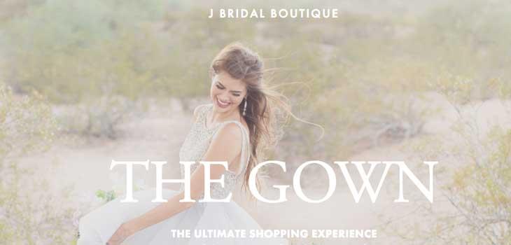 J Bridal Boutique gowns